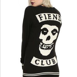 Misfits Fiend Club Girls Cardigan